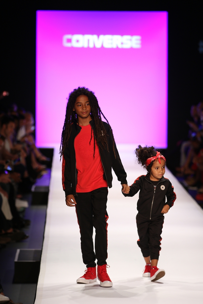 new style 7ae98 4d63d Converse Kids at New York Fashion Week