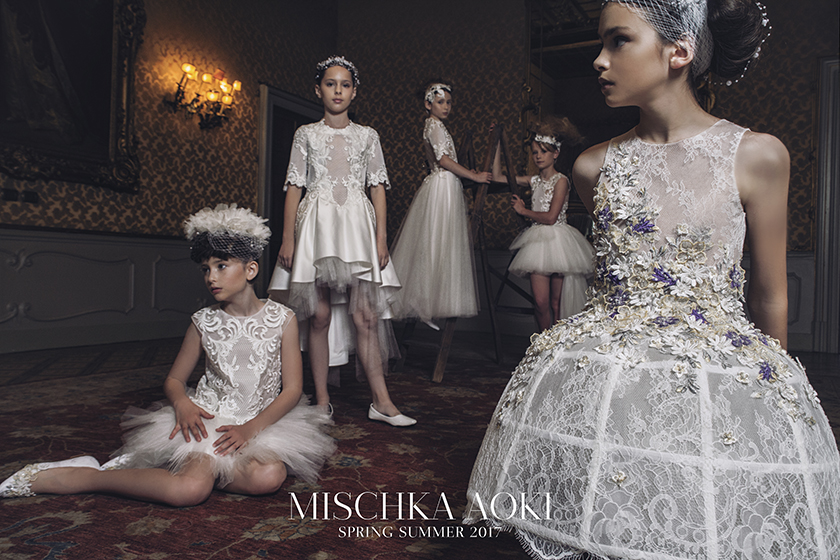The Imperial Salon Mischka Aoki For Ss17 Poster Child