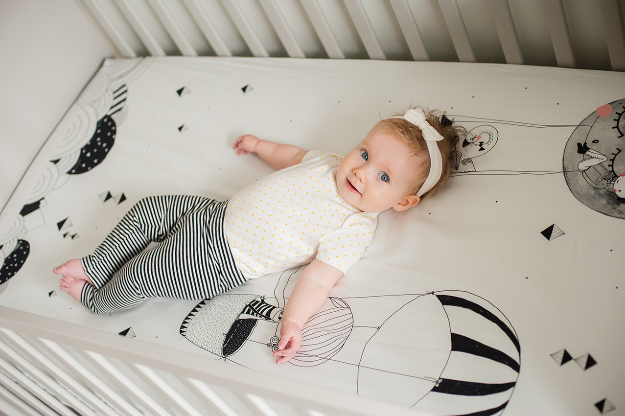 Rookie Humans Swoon Worthy Baby Bedding Poster Child