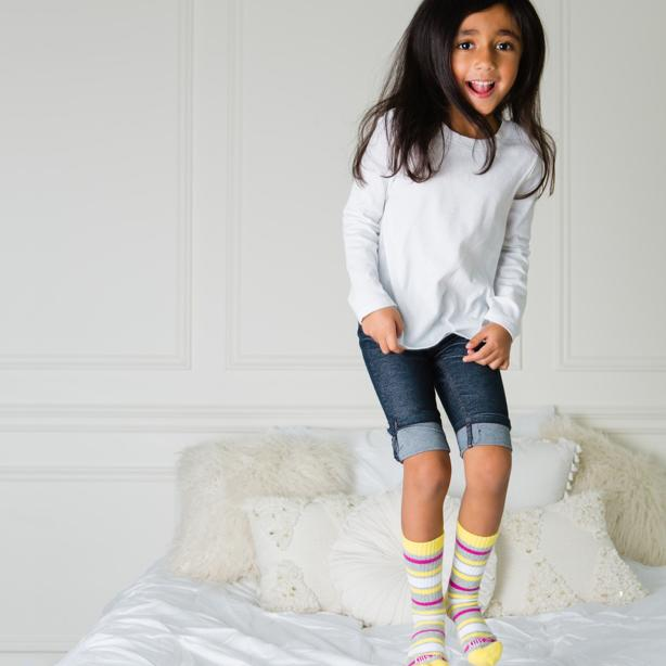 Give Back - Sticky Be Socks - Poster Child Magazine